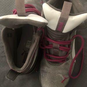 Women Distress Puma Boots